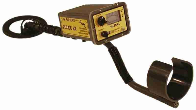 JW Fishers Pulse 8x underwater metal detector