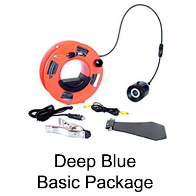 Deep Blue Underwater Drop Video Camera