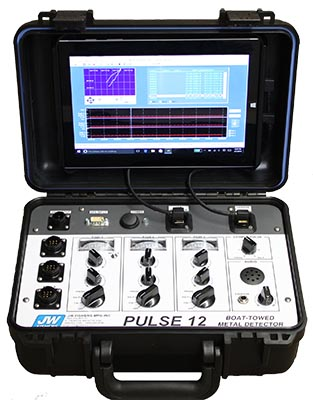 JW Fisher Pulse 12 Metal Detector