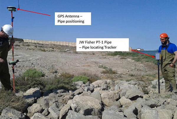 JW Fisher PT-1 Pipe Tracker