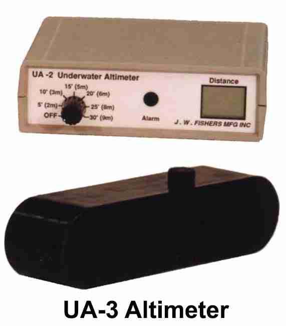 JW Fisher UA-3 Altimeter