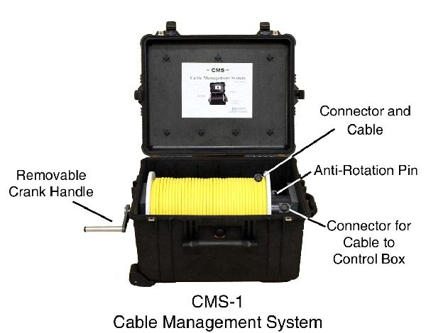 CMS-1 Cable Reel from Sea-View Diving